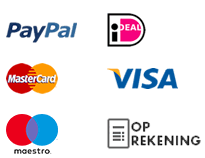 iDeal, Paypal, Credit card
